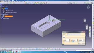 Catia Cam Stok Oluşturma Creates Rough Stock