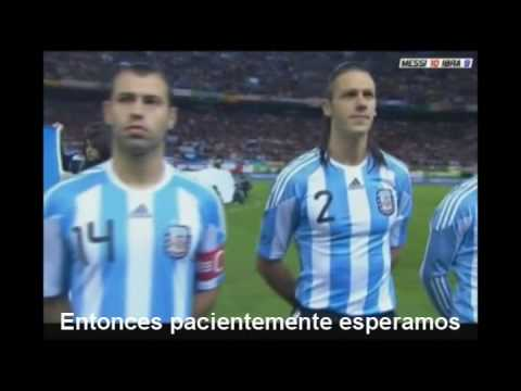 Seleccion Argentina 2010 Waving Flag video