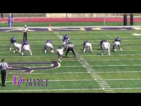 Defiance College Football Highlights 2013