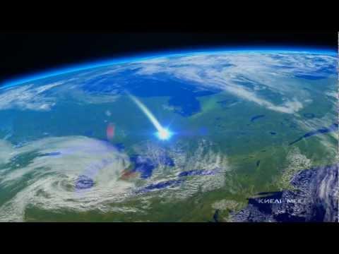 Астана из космоса (видео)