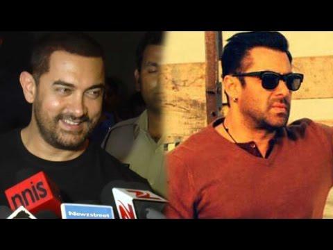 Aamir Khan's Reaction On Salman Khan's Bajrangi Bhaijaan Teaser