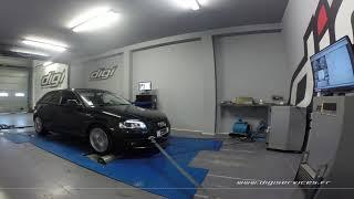 Audi A3 1.6 tdi 105cv Reprogrammation Moteur @ 156cv Digiservices Paris 77 Dyno