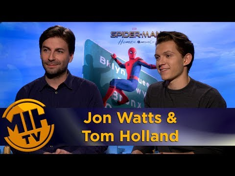Jon Watts & Tom Holland Spider-Man: Homecoming Interview