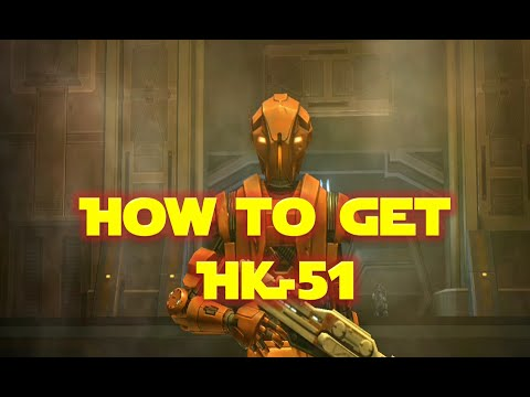 How to Get HK-51 Companion Solo (Level 60)