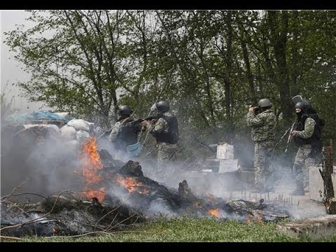 Ukraine Launches Offensive to Regain Slovyansk