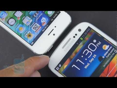 Apple iPhone 5 vs Samsung Galaxy S III