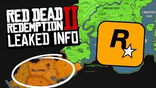 *LEAKED* How Big is Red Dead Redemption 2 Map, Leaked Map Info and More!
