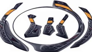 Motorola L703M Dect 6 0 Cordless Phone with 3 Handsets and Digital Answering System