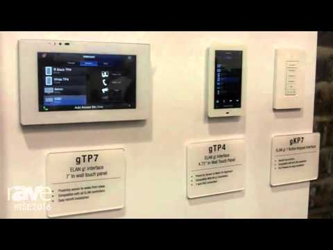 ISE 2016: Core Brands Highlights ELAN Intercom Solution