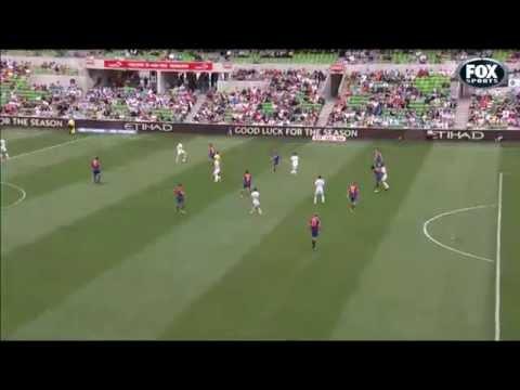 David Villa Goal vs Newcastle Jets | 19/10/2014