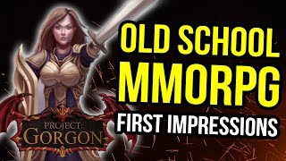 Project Gorgon - First Impressions - The Best New MMORPG For Old School Players?