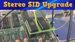 Installing dual SID chips in your Commodore 64 with SID 2 SID