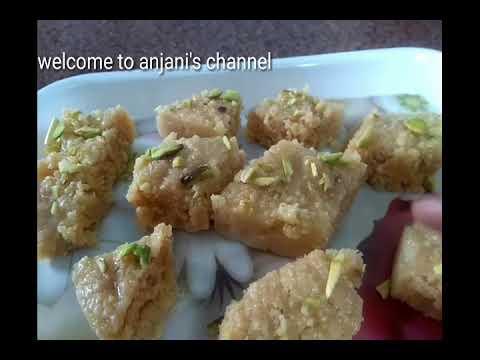Paneer burfi#anjani's channel#telugu