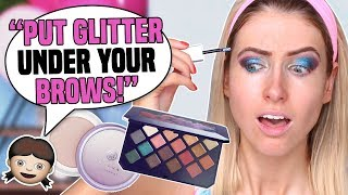 My DAUGHTER PICKS MY MAKEUP || Yuppp, she went there...