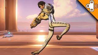 *CRAZIEST* Overwatch Bug Yet? BROKEN LEG BONES! Overwatch Funny & Epic Moments 513