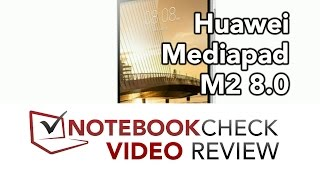 Huawei Mediapad M2 8.0 Review and test results (Android Lolipop)