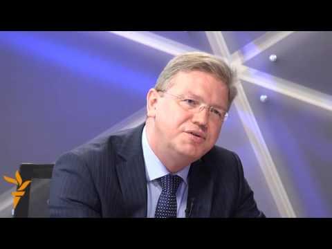 Interview: EU Commissioner Stefan Fuele on Azerbaijan...
