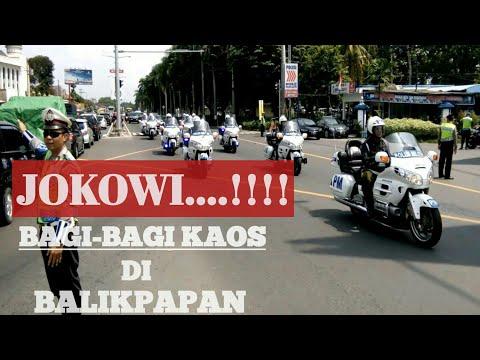 Download Lagu JOKOWI BAGI-BAGI KAOS PADA WARGA BALIKPAPAN MP3 Free