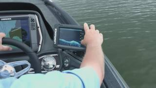 Lowrance Elite Ti DownScan and StructureScan