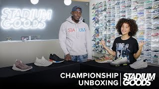 "Nike Air Max vs. Adidas Boost: Which Is Better? | Stadium Goods ""Championship Unboxing"""