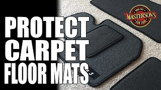 How To Apply Fabric Protectant Coating On Carpet - Masterson's Car Care - Auto Detailing