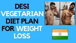 VEGETARIAN INDIAN DIET FOR WEIGHT LOSS! | Full Day of Eating! (Vlog)