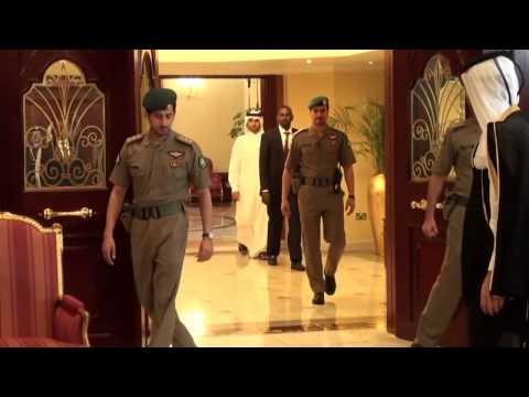 Arab League Summit in Doha | Somali president Hassan Sheikh Mohamud in Qatar