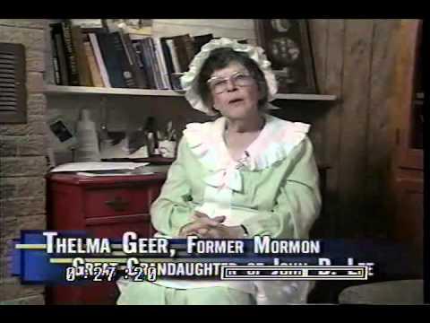 The Secret World Of Mormonism video