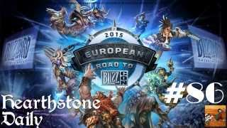 [Hearthstone] Daily#86: European Road to Blizzcon 2015