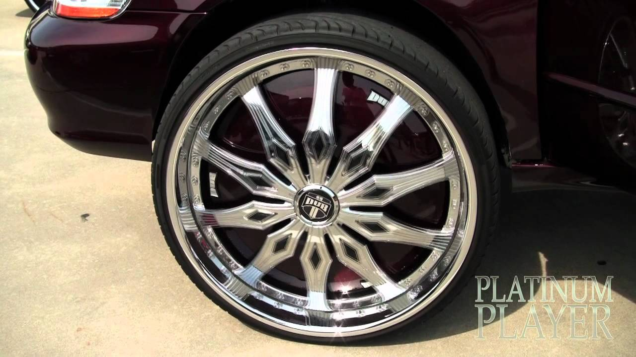 Honda Accord V6 On 26 Inch Dub Spinners Georgia On My