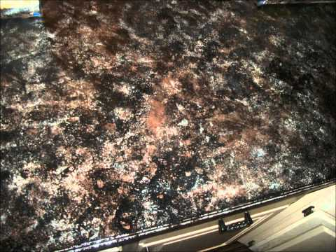 How to create Faux Granite Countertops