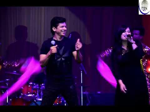 Singer Shaan Sings 'Kuch To Hua Hai' Song At Shilpotsav 2018 At Noida Stadium
