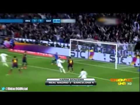 Real Madrid Barcelona 3-4 Santiago Bernabeu 23 Marzo 2014