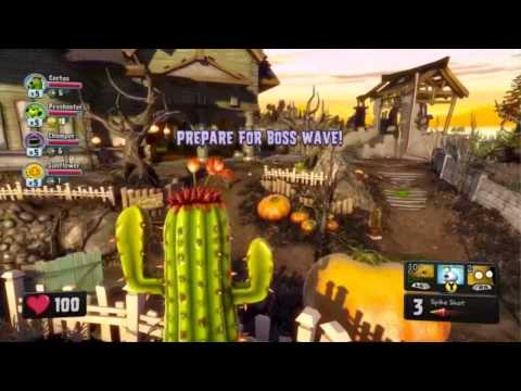 Plants vs Zombies Garden Warfare - Gameplay Walkthrough E3 2013 Demo [HD] (Xbox One) E3M13