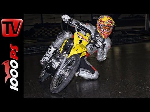 Supermoto Driftkurs mit Suzuki DR-Z 125 - motorradtrainings.at