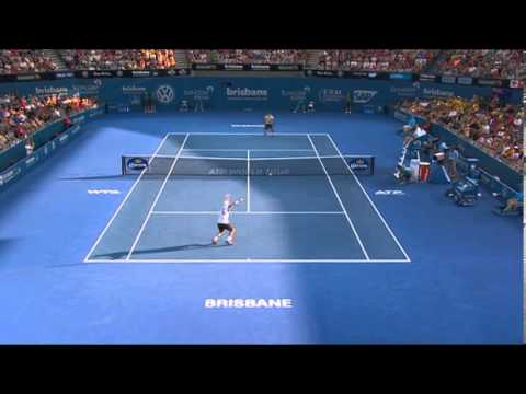 Lleyton Hewitt v Roger Federer - Highlights Men's Final: Brisbane International 2014