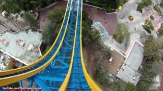 POV Superman Escape From Krypton Six Flags Magic Mountain