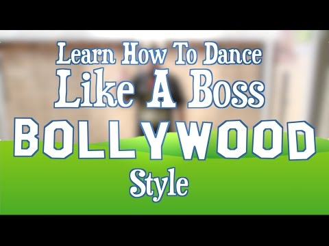 How To Dance Like A Boss - Bollywood Style! by Eddie G!