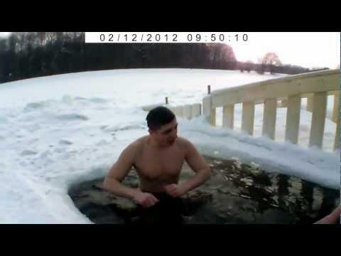 Зимнее плавание (Winter swimming) -25°C
