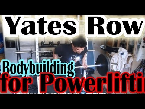 Yates row Bodybuilding Workouts for powerlifting - The deadlift back exercises Image 1