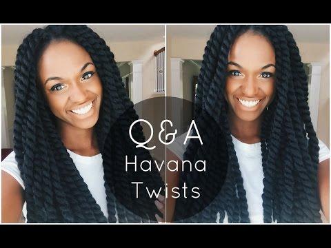 Crochet Havana Twists Nighttime Routine. Washing Instructions etc.   Q&A
