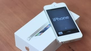 Unboxing: White iPhone 5 (Giveaway Unit)