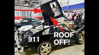 Why Cut Off a 911 ROOF?