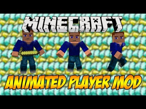  Mod Spotlight w/ SuperMinepod! - Animated Player Mod! (1.5.1)