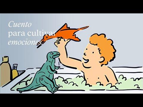 El dinosaurio de Daniel. Cuento para trabajar emociones y valores