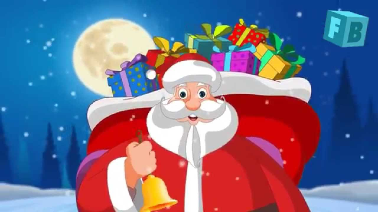 Jingle Bells Song   Christmas Carol   Children Nursery Rhymes - YouTube