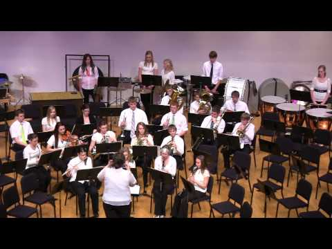 Raise Your Joys and Triumphs High. Trinity Christian High School Band. James SwearIngen - 04/21/2013