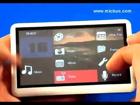 Review : 8GB 4.3 Inch Touch Screen Digital MP3 / MP4 / MP5 Player with Radio / Ebook from Micbus.com