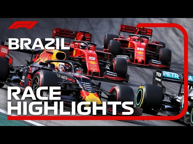2019 Brazilian Grand Prix: Race Highlights thumbnail