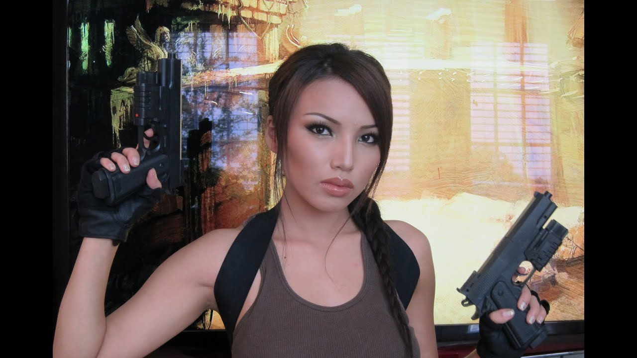 video game lara croft tomb raider makeup tutorial